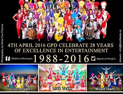 GPD 28th Anniversary Flyer
